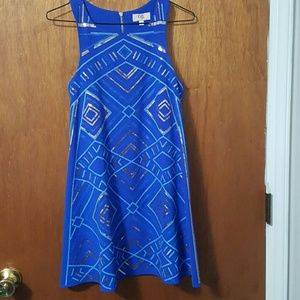 Other - beautiful royal blue sequin dress, girls large